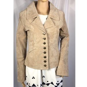 NEW BB Dakota Suede Leather Blazer Jacket